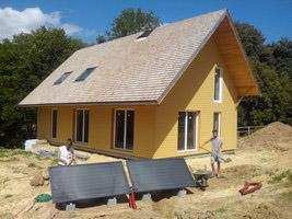 Installation sur chantier école à Saint Germain de Pasquier (27) – Août 2015