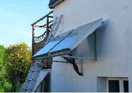 Installation de capteurs solaires thermiques à Inguigniel (56) – Septembre 2014