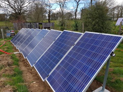 Installation photovoltaïque chez Benoît à Dingé (35) – Avril 2019
