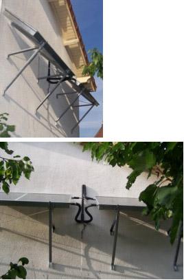 Pose d'un chauffe-eau solaire, ballon de stockage de 200 L et insert modifé – Septembre 2011