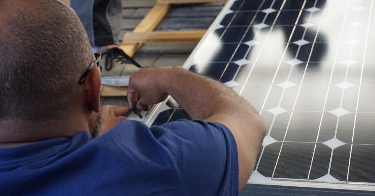 Instalation de panneau solaire